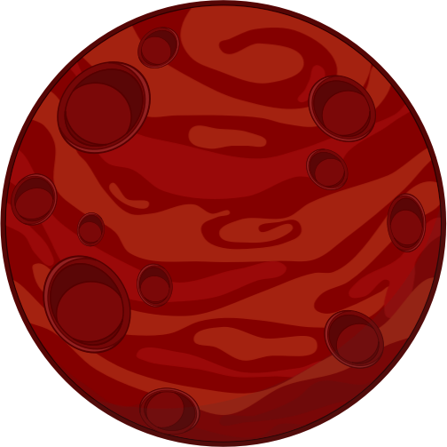 Planet clipart red planet. Pin by student on