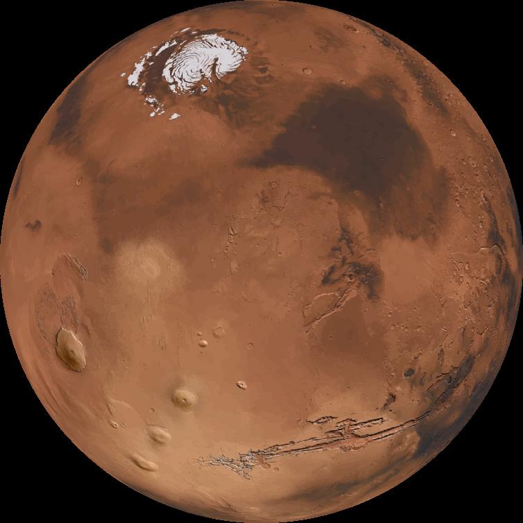 Planeten clipart 3d globe. Mars d medium image