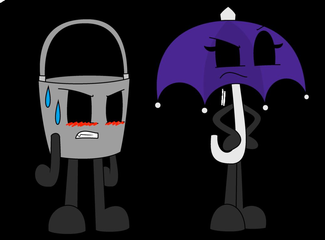 X umbrella by the. Marshmallow clipart bucket