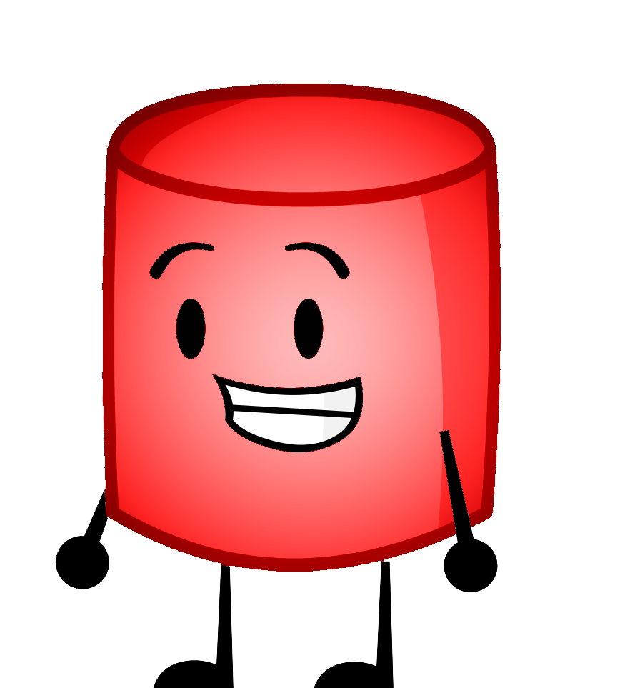 Image red png inanimate. Marshmallow clipart bucket