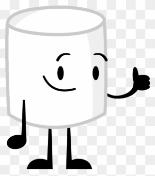 Marshmallow clipart bucket. Object shows full size