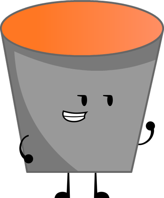 Marshmallow clipart bucket. Image lava png object