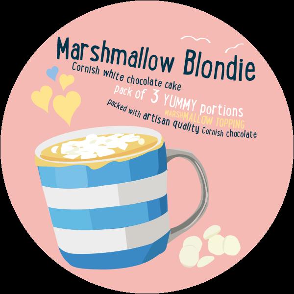 Blondie mug cake happy. Marshmallow clipart marshmellow