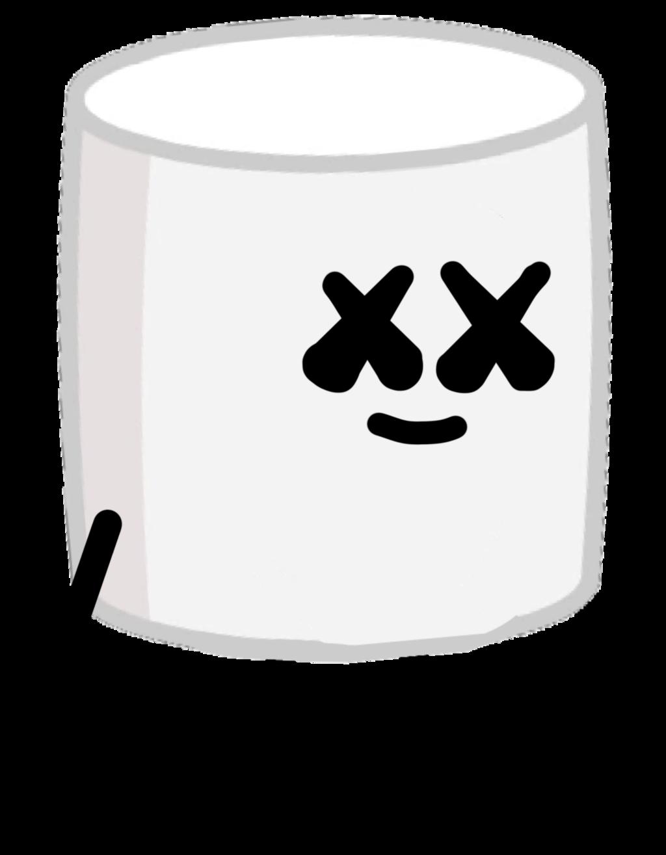 Marshmello but is ii. Marshmallow clipart marshmellow