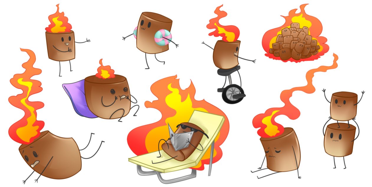 Babies by toasty on. Marshmallow clipart super cute cute