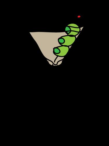 Cool . Martini clipart