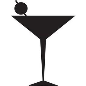 Martini clipart. Free glass clip art