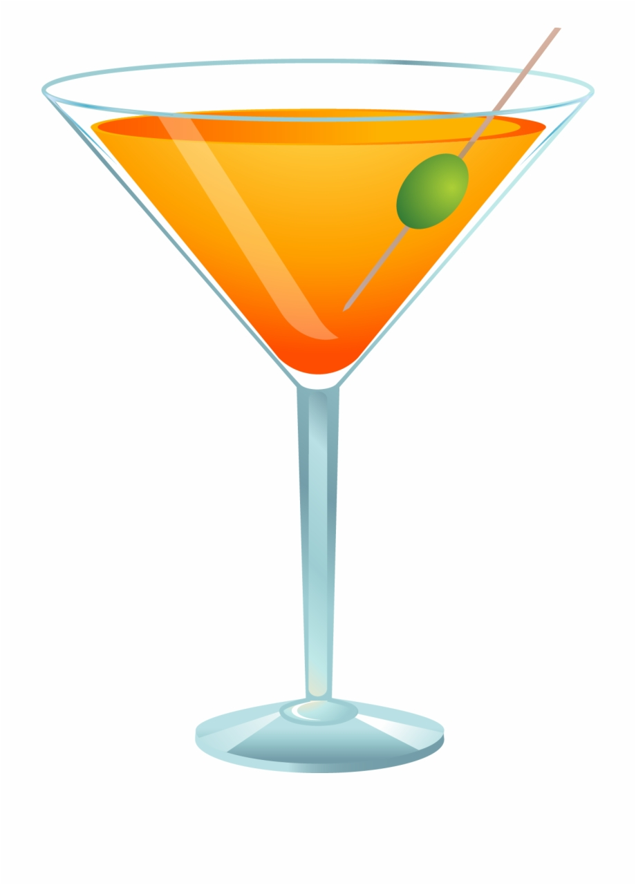 Cocktail clipart martini. Glass transparent background
