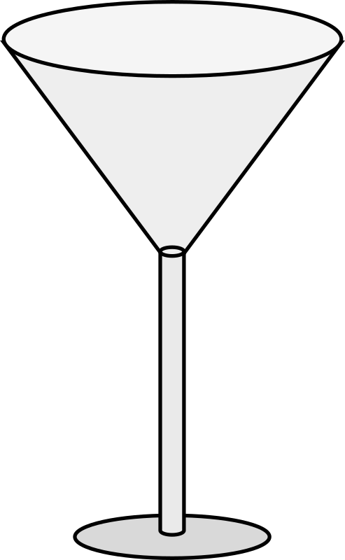 Martini clipart bar glass. Empty medium image png