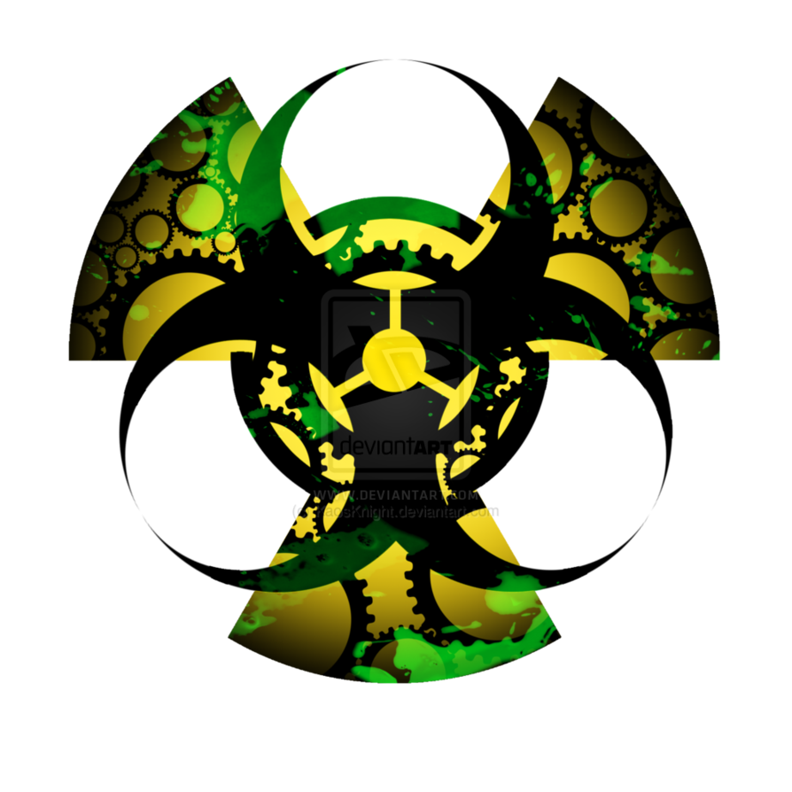 Mask clipart biohazard. Radiation symbol together with
