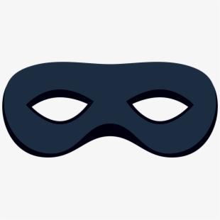 Masked robber de masque. Mask clipart burglar