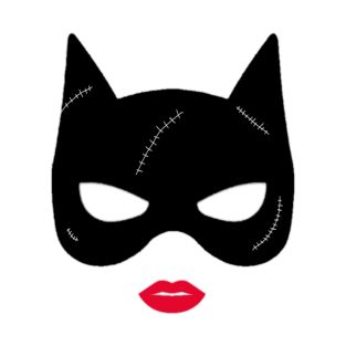 catwoman clipartlook. Mask clipart cat woman
