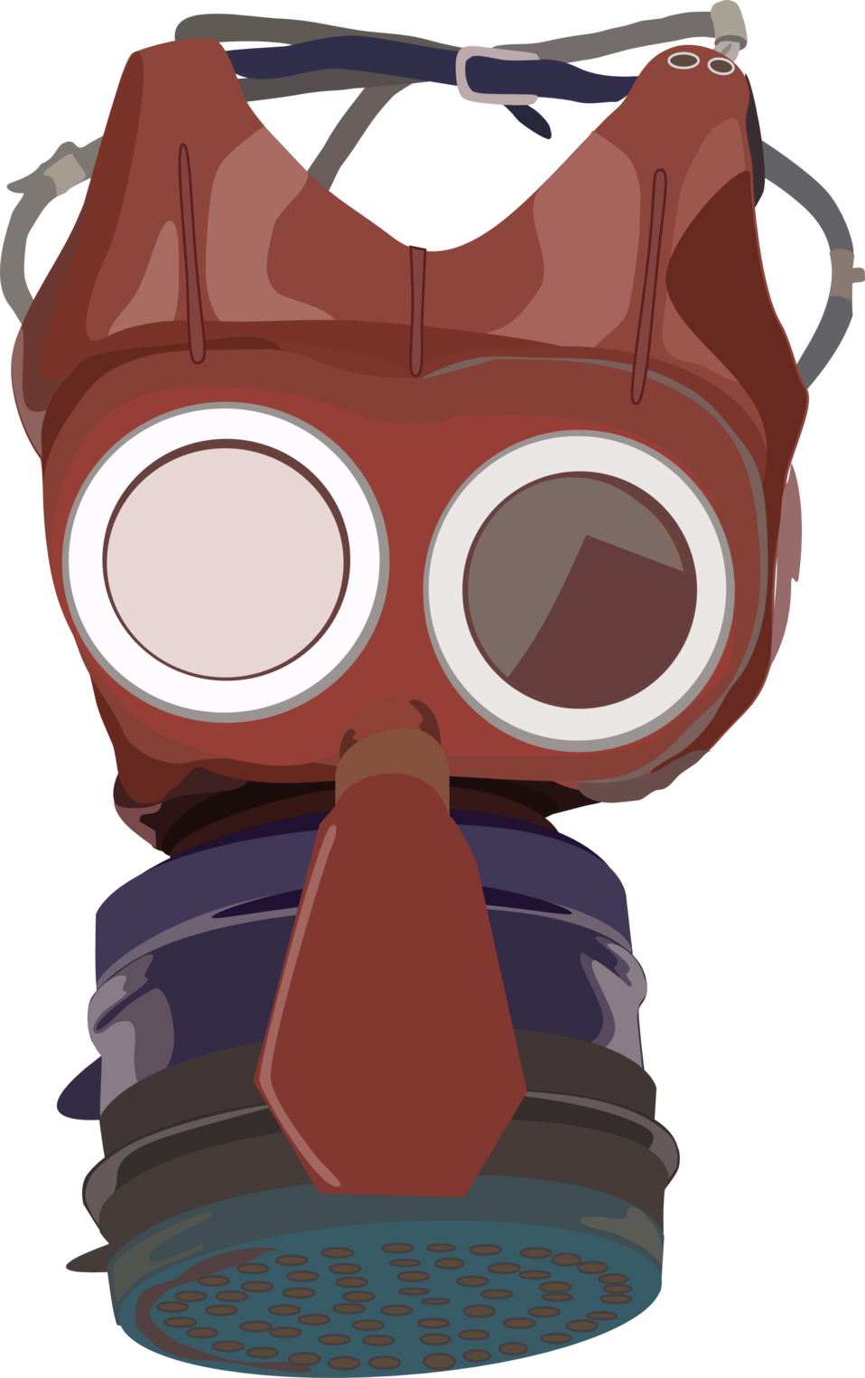 Public domain clip art. Mask clipart gas mask