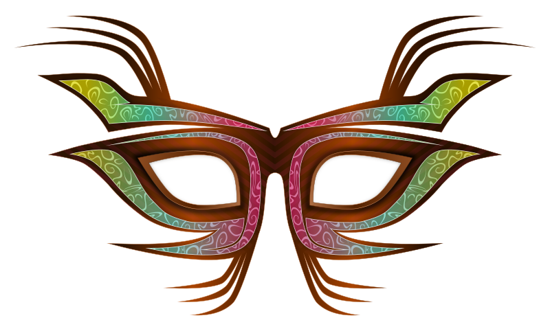 Mask clipart masquerade. Party medium image png