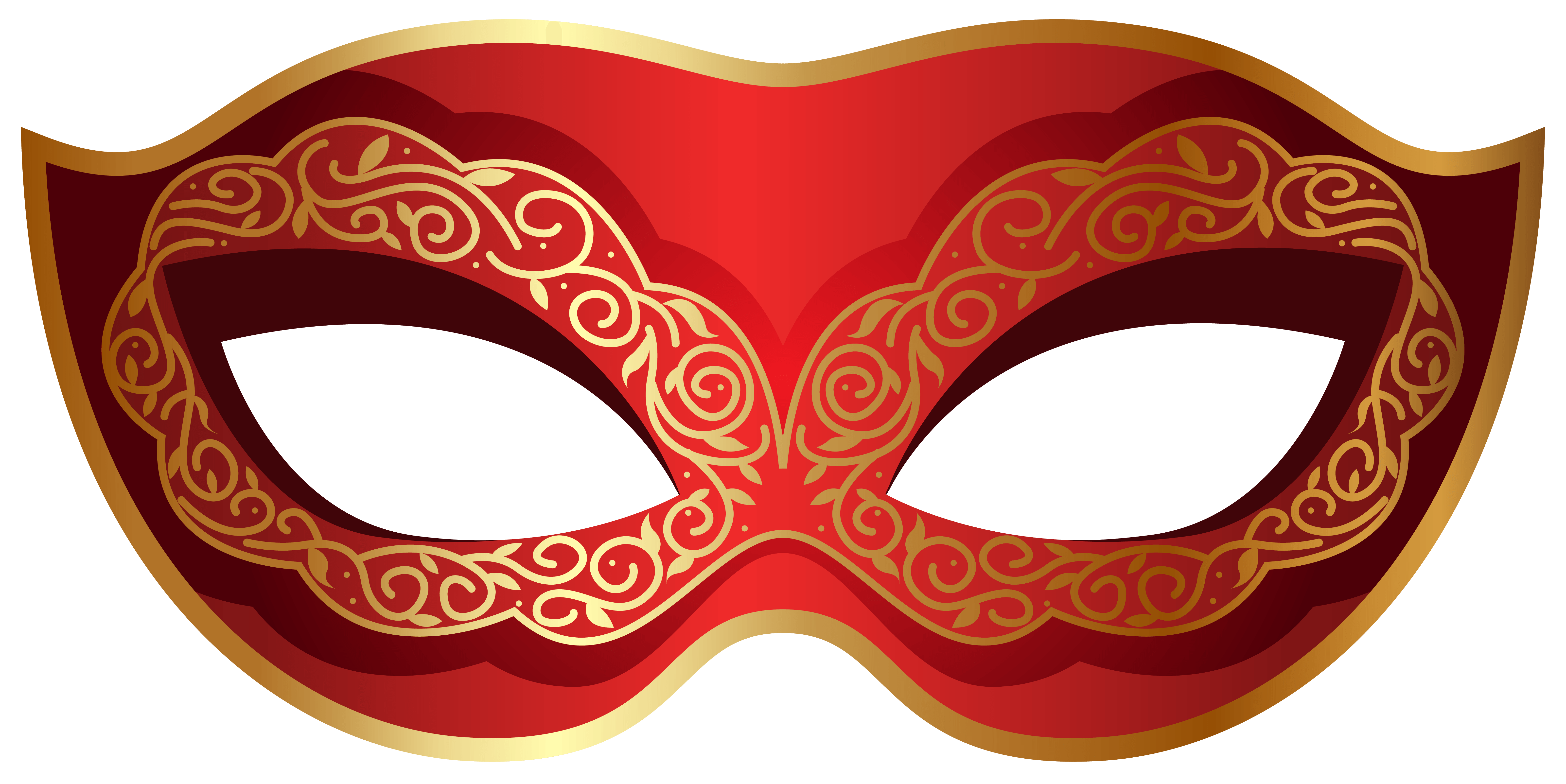 Mask clipart masquerade.  collection of red