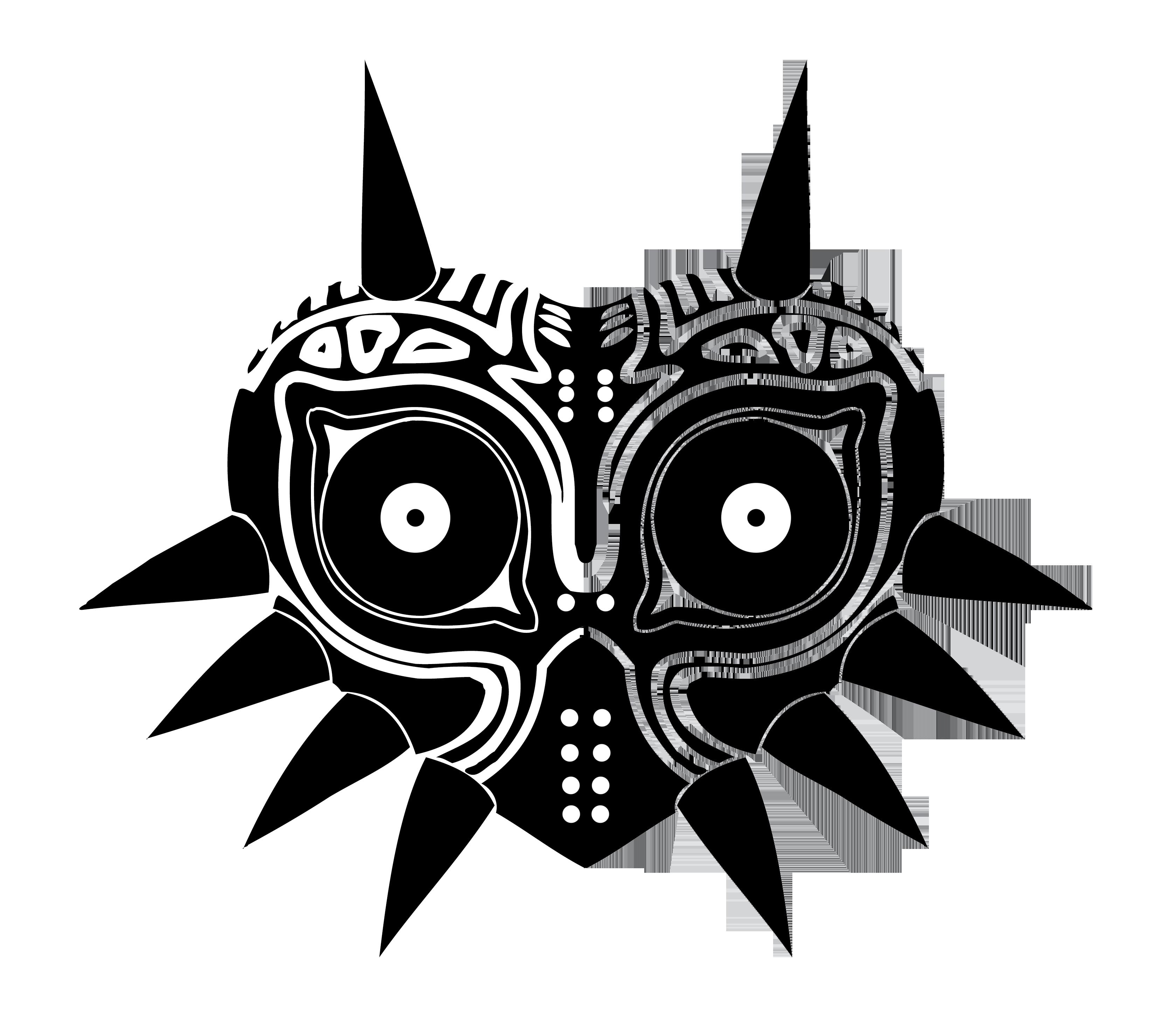 Majoras vector by reptiletc. Mask clipart mood