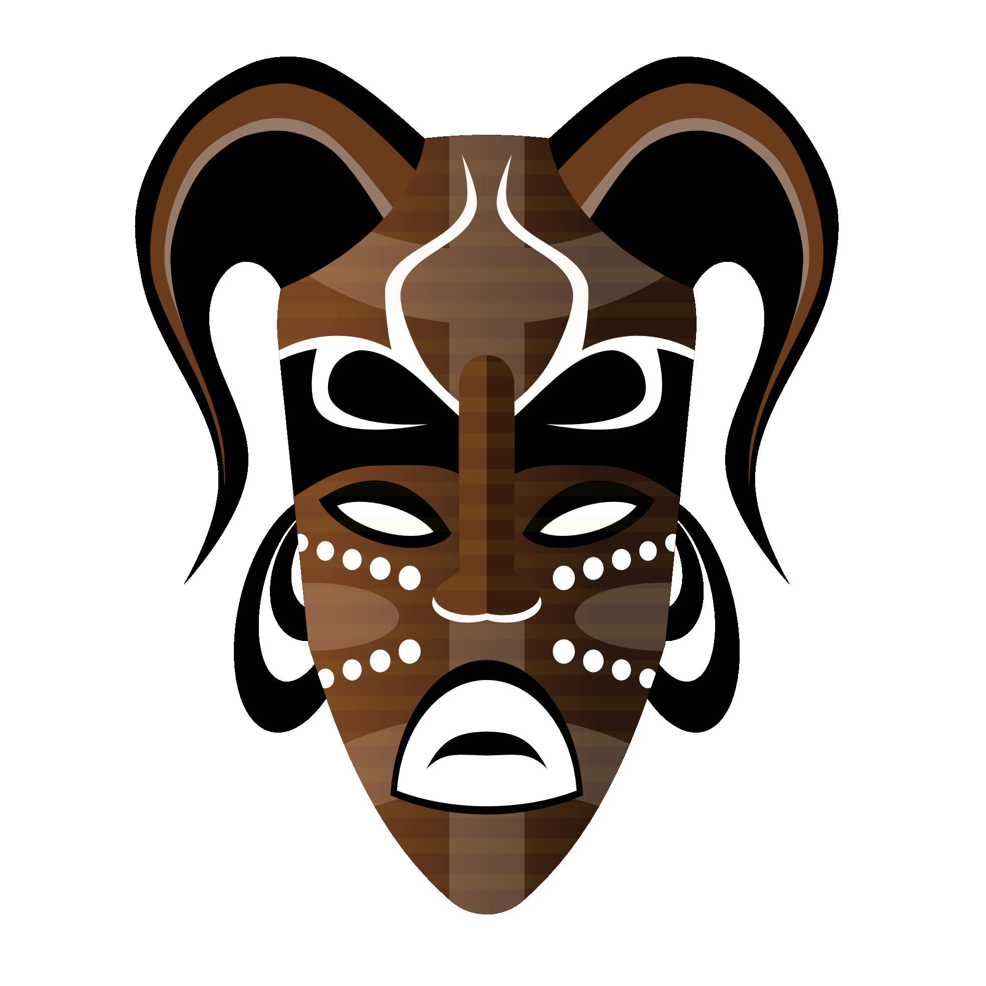 Mask clipart mood. Tribal masks png skulls