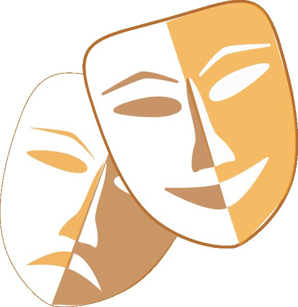 Mask clipart musical theatre. Masks clip art at