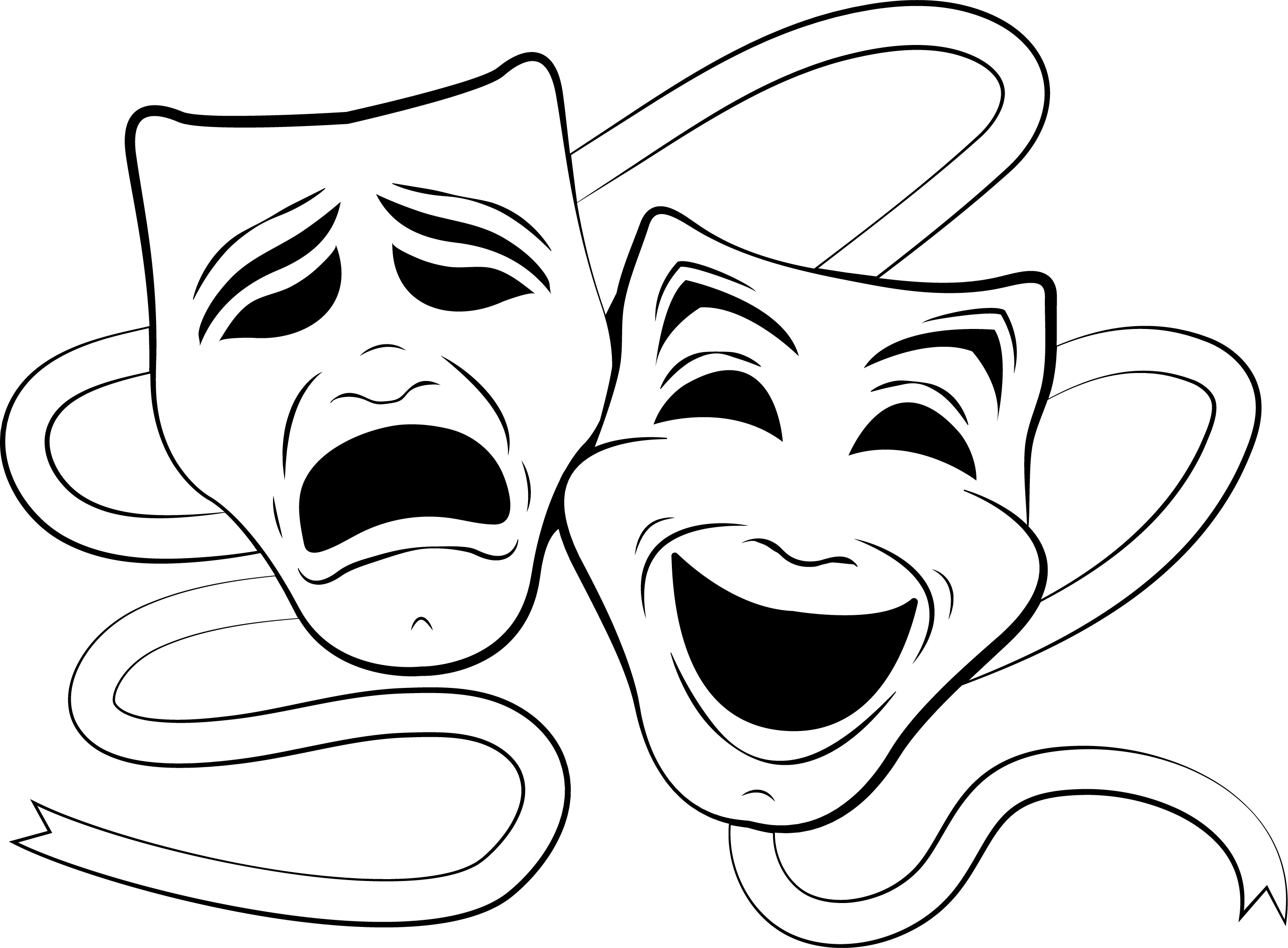 Mask clipart musical theatre. Image result for masks
