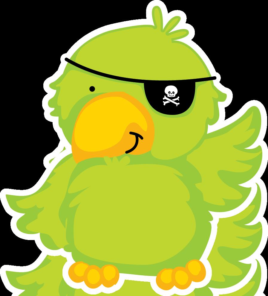 Pirate printables pinterest clip. Parrot clipart mask