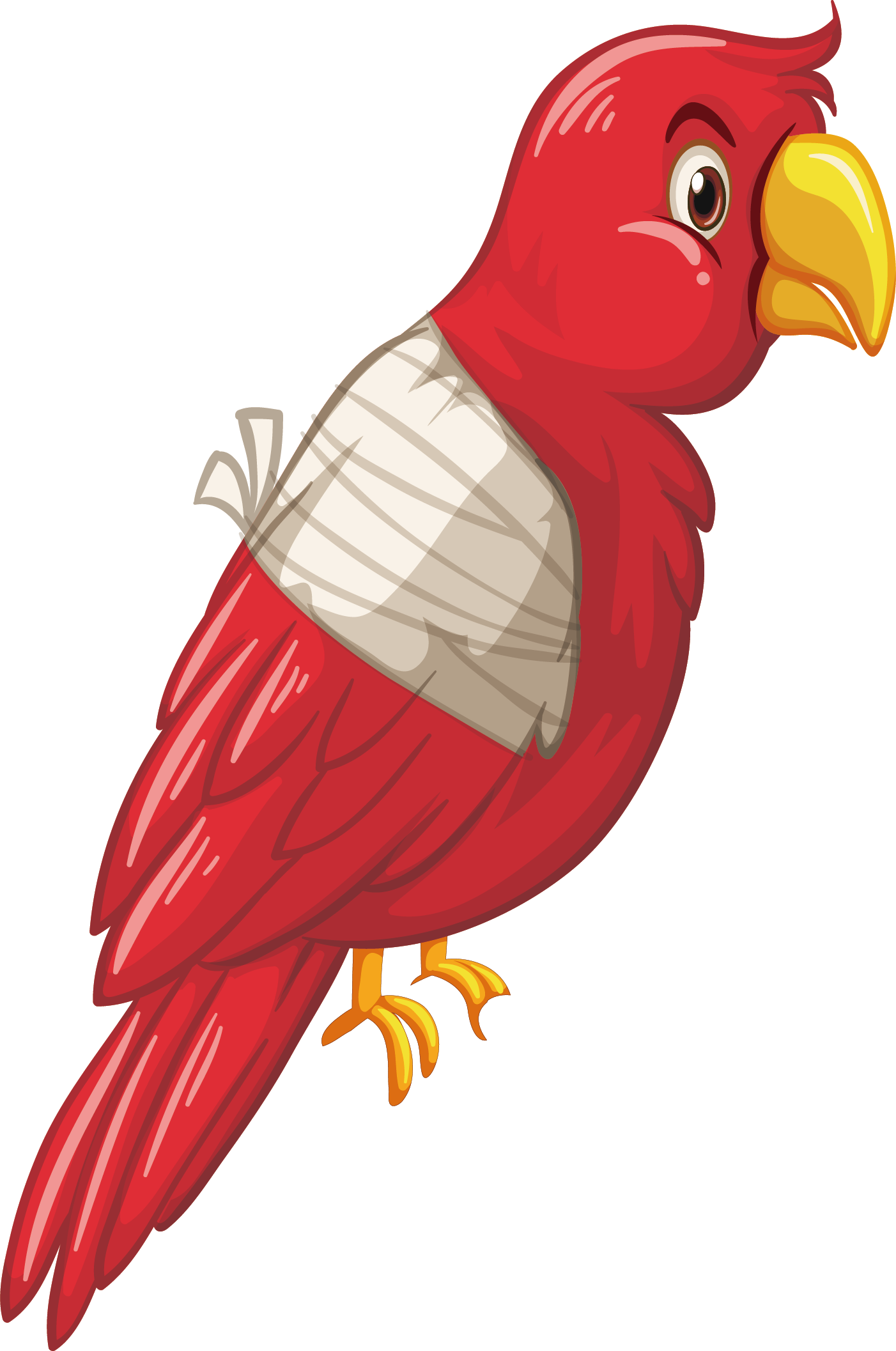 Parrot clipart branch clipart. Cute at getdrawings com