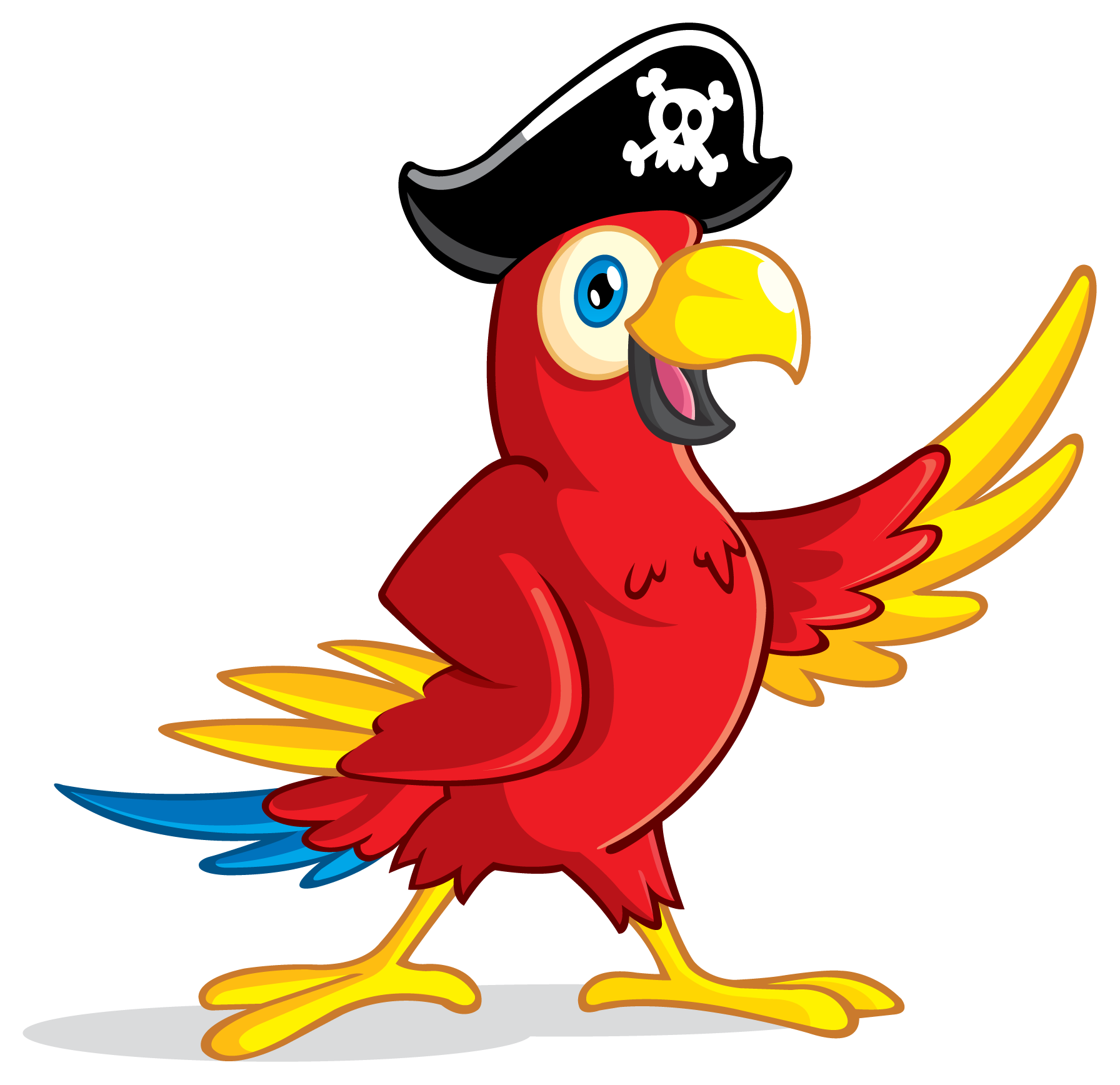 Pirate clipart shovel. Download parrot transparent image