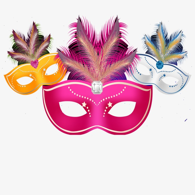Mask clipart party. Station