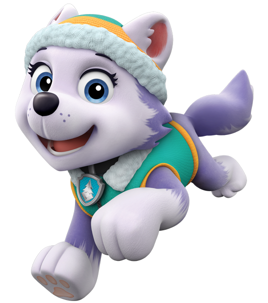 About everest paw patrol. Paws clipart lovable
