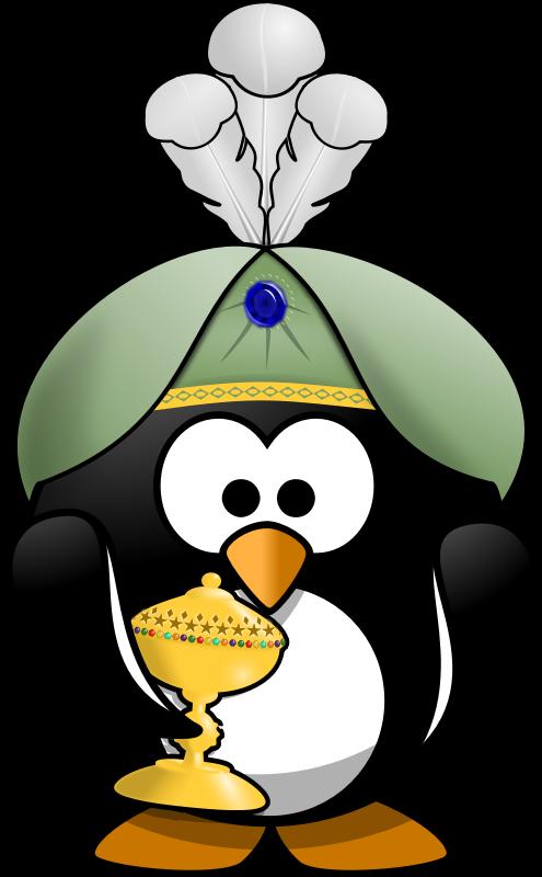 Oriental no medium image. Mask clipart penguin