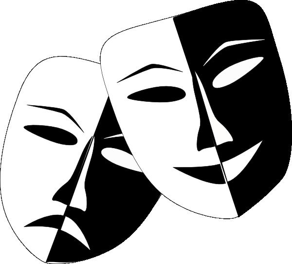 Masquerade masks clip art. Theatre clipart drama teacher