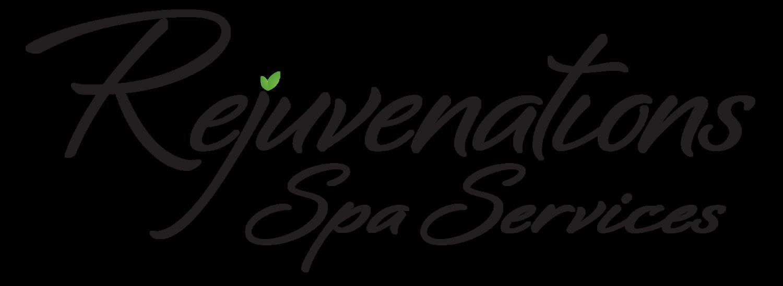 Rejuvenations spa services . Massage clipart black and white