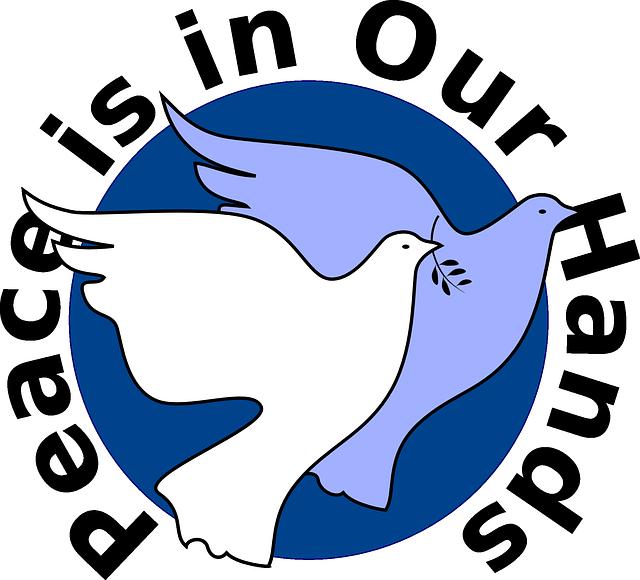 Africa south cartoon peace. Massages clipart hand symbol