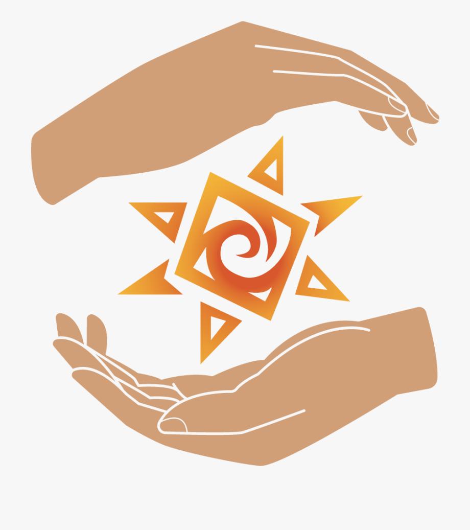Enlightened hands massage and. Massages clipart hand symbol