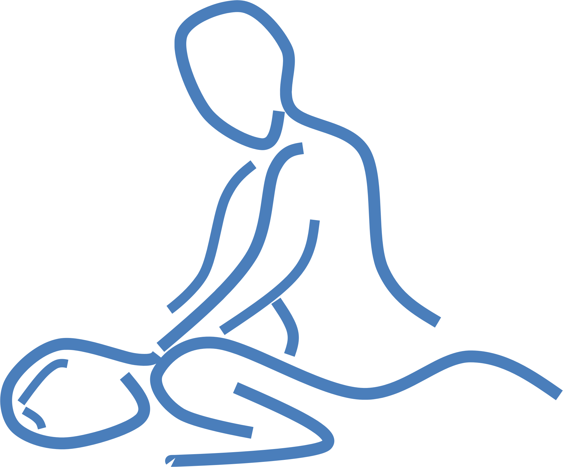 collection of massage. Massages clipart coloring page