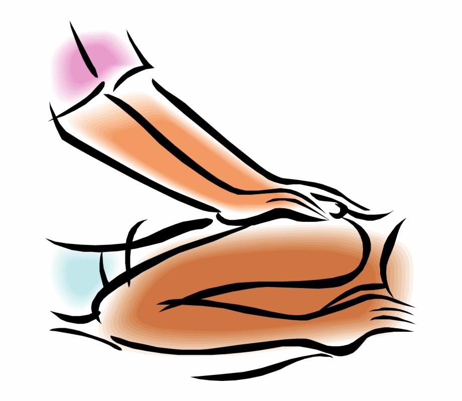 Line art image . Massage clipart transparent