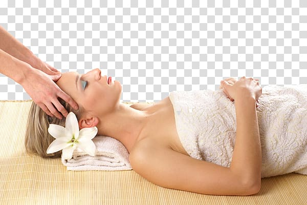 Lying on bed playa. Massage clipart woman spa