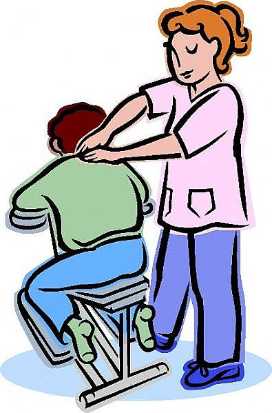 Free cliparts download clip. Therapy clipart neck massage