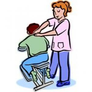 Massages clipart. Free minute chair arcadia