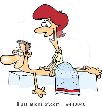 Massage illustration by toonaday. Massages clipart