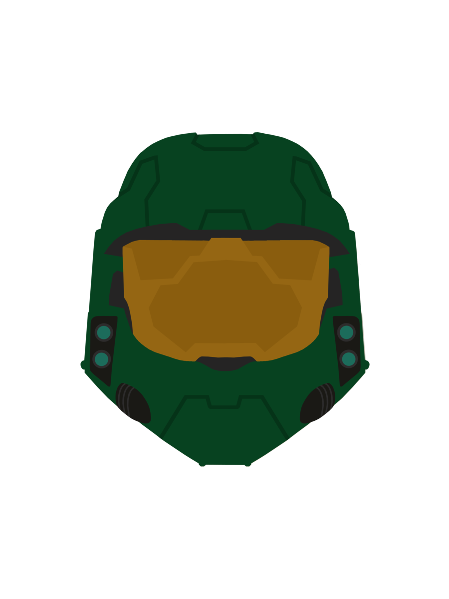 Master chief helmet png. Halo reach combat evolved