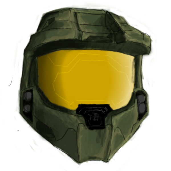 Master chief helmet png. Spartan by jj uk
