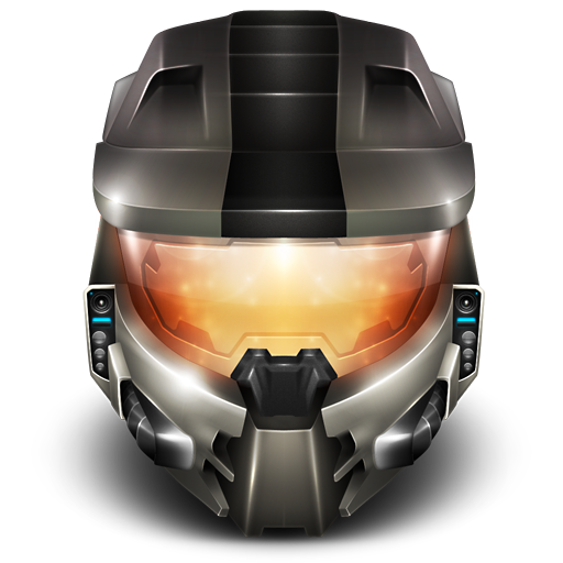 Master chief helmet png. Remember reach icon icons
