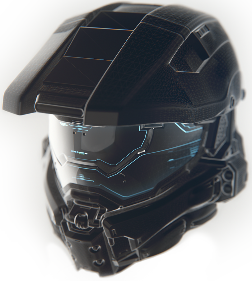 Halo concept cool gadgets. Master chief helmet png