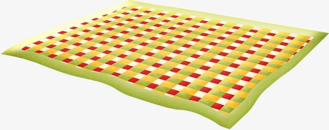 Cartoon cloth pad png. Mat clipart