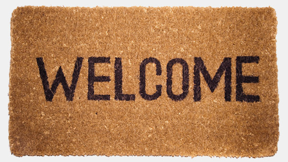 collection of welcome. Mat clipart