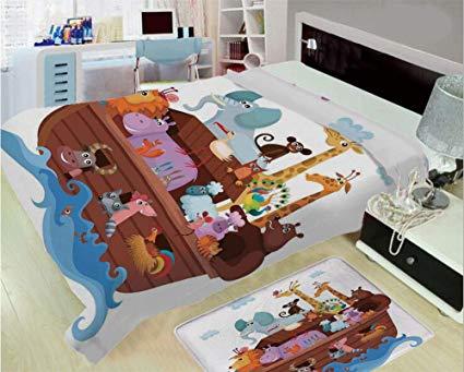 Mat clipart bed blanket. Amazon com d printed