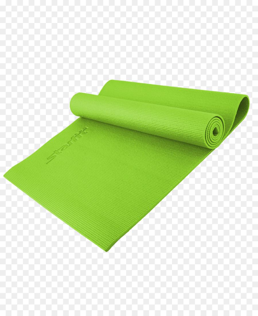 Grass background yoga product. Mat clipart green