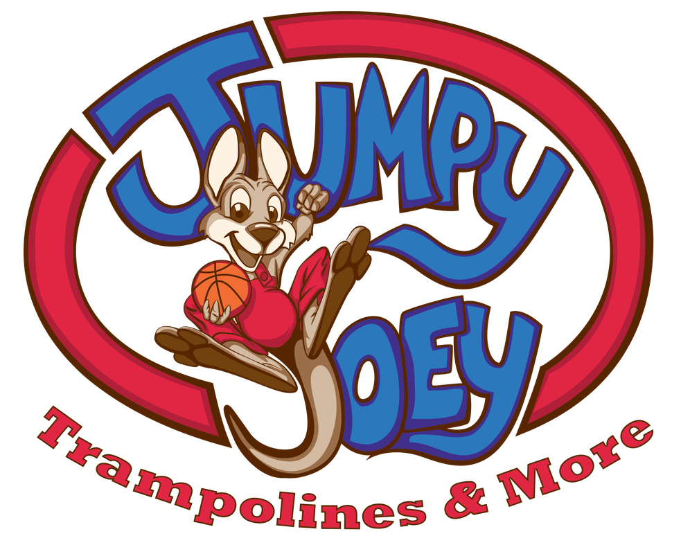 Jumpy joey trampolines more. Professional clipart trampoline