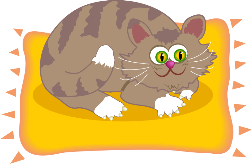 Mat clipart small.  collection of cat
