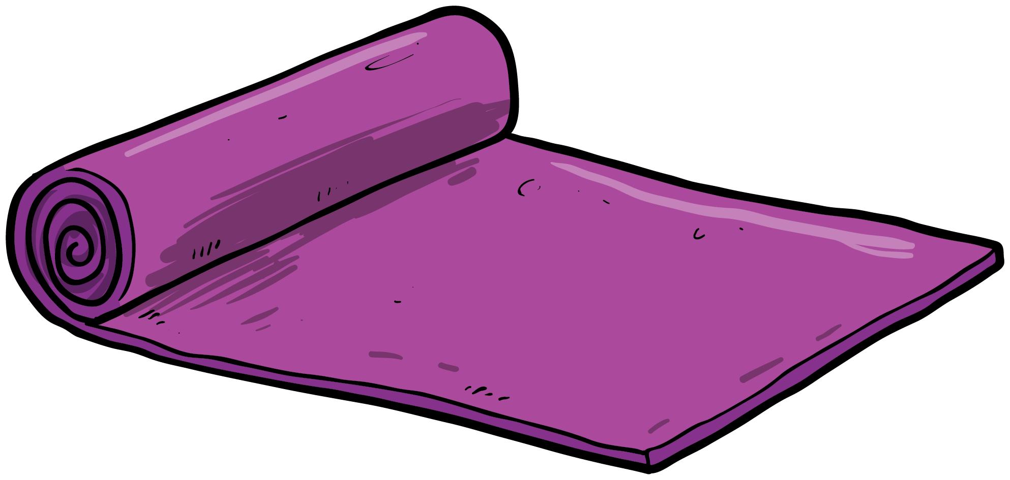 Mat Clipart Yoga Mat Mat Yoga Mat Transparent Free For